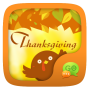 icon GO SMS THANKSGIVING THEME