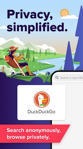 Búsqueda e historias de DuckDuckGo