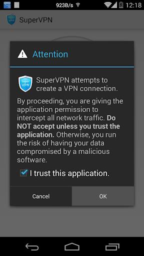Cliente VPN gratuito SuperVPN
